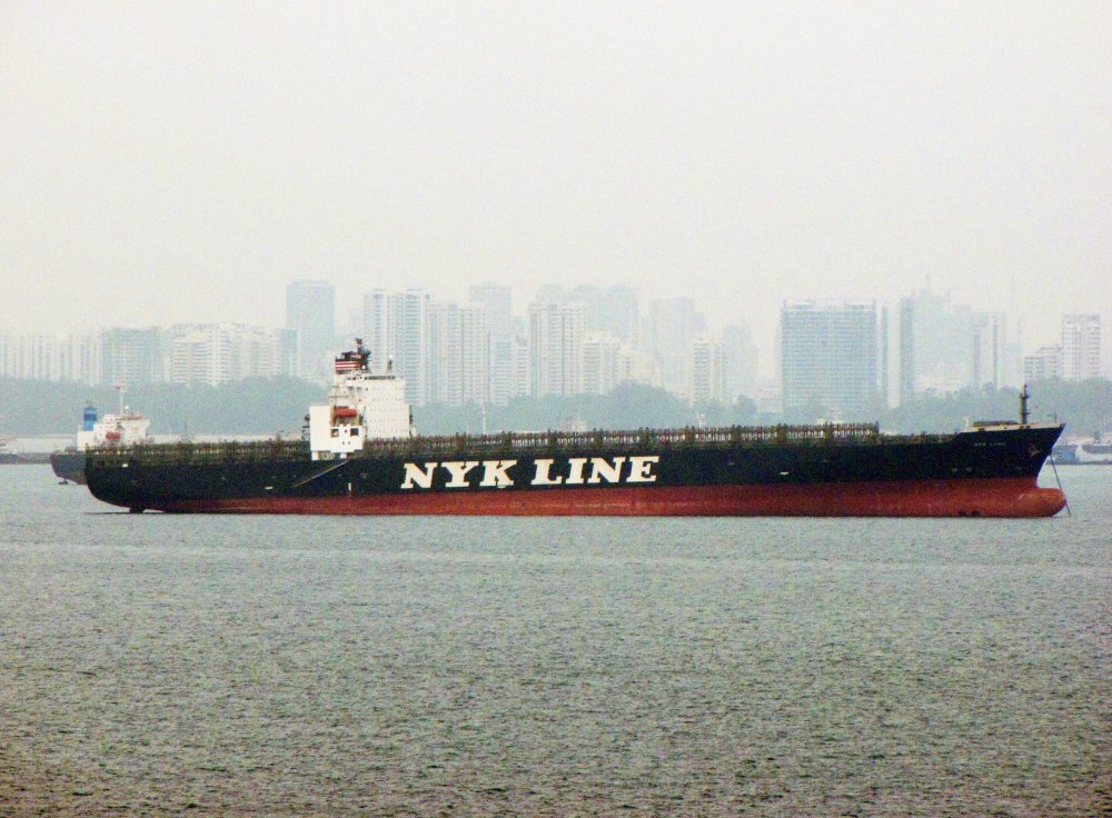 NYK Lyra, IMO 9229336, Call sign HOFL, Gearless container ships
