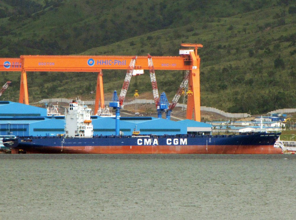 Cma cgm jasper imo 9397614 call sign a8sd6 gearless container ships - Bureau veritas marseille ...