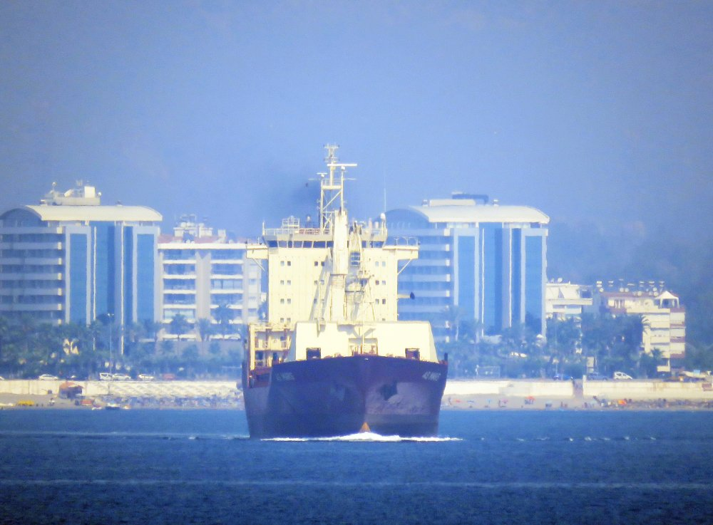 As Mars, IMO 9127502, Call sign V7MG9, Geared container ships