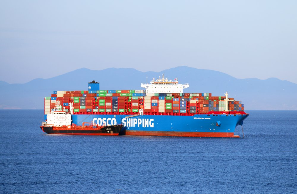 COSCO Shipping Jasmine, IMO 9785768, Call sign VRRY2