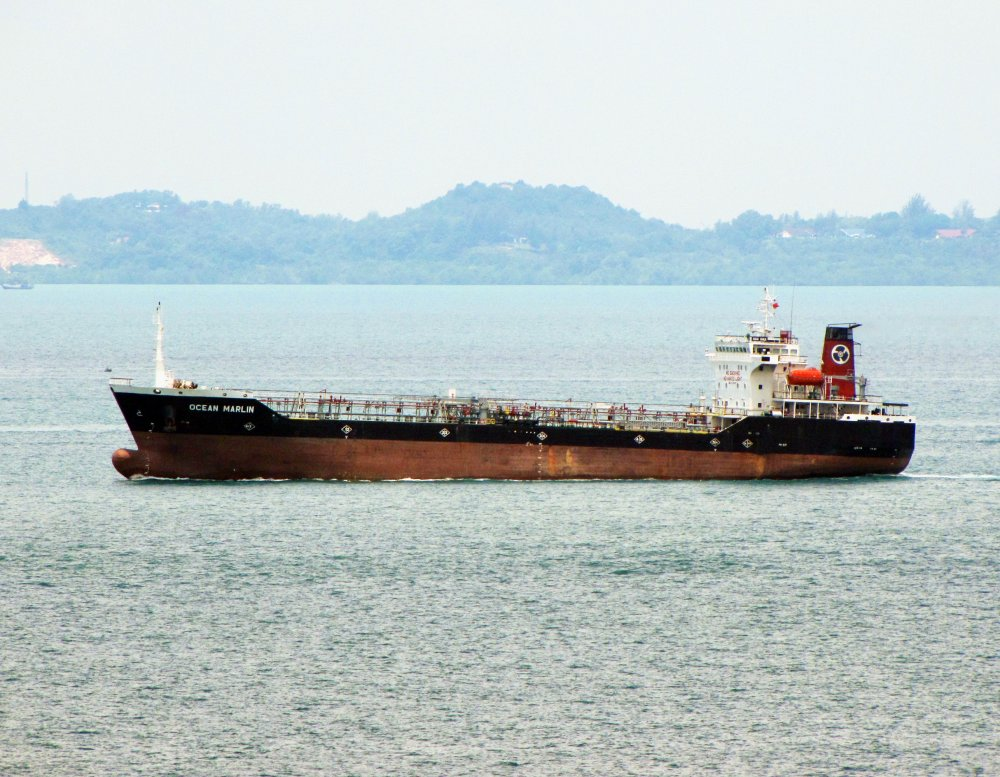 Ocean Marlin, IMO 9126895, Call sign S6GK, Product tankers