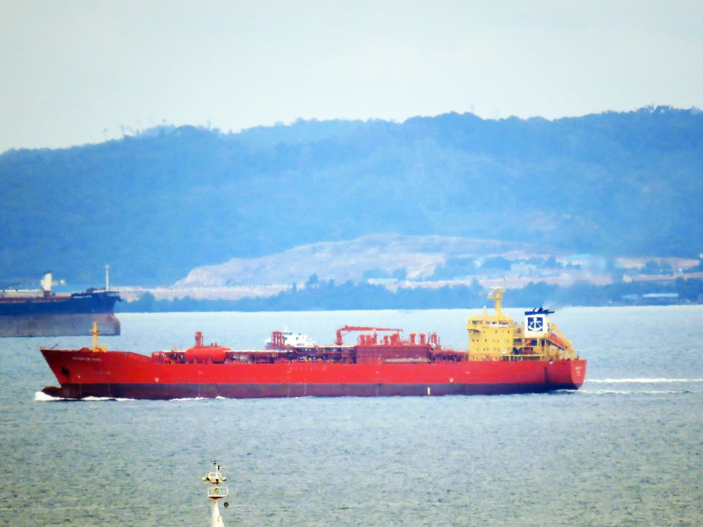 Navigator Mars, IMO 9177545, Call sign ELYB6, LPG tankers