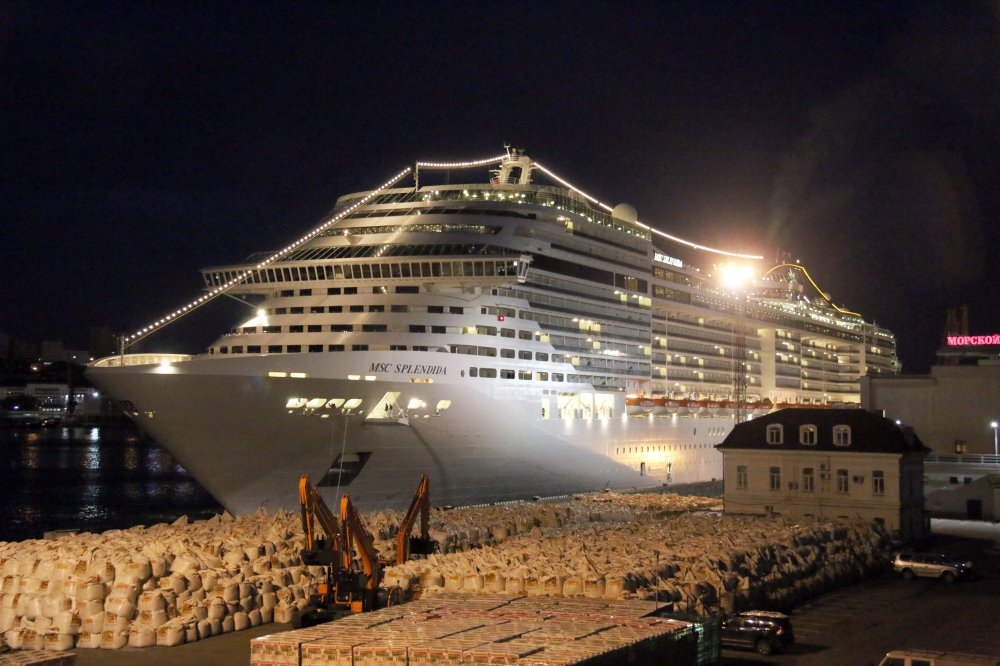 MSC Splendida, IMO 9359806, Call sign 3FZI8, Ocean going ships